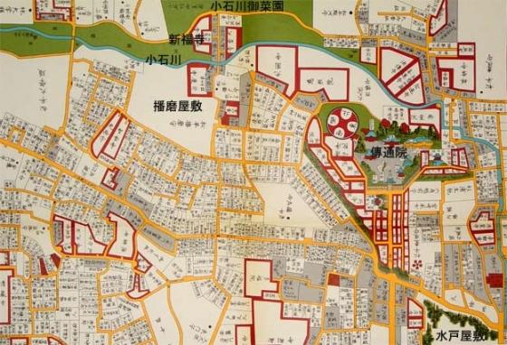 小石川絵図