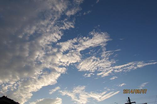 きょうの雲4