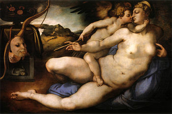 ヴィーナスとアモル