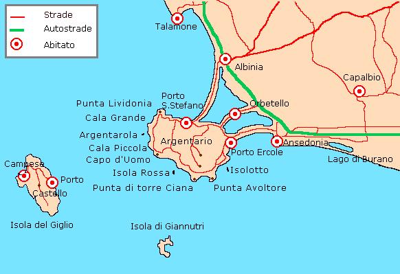 アルジェンターリオ岬
