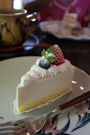 MIKADOレアチーズケーキ♪