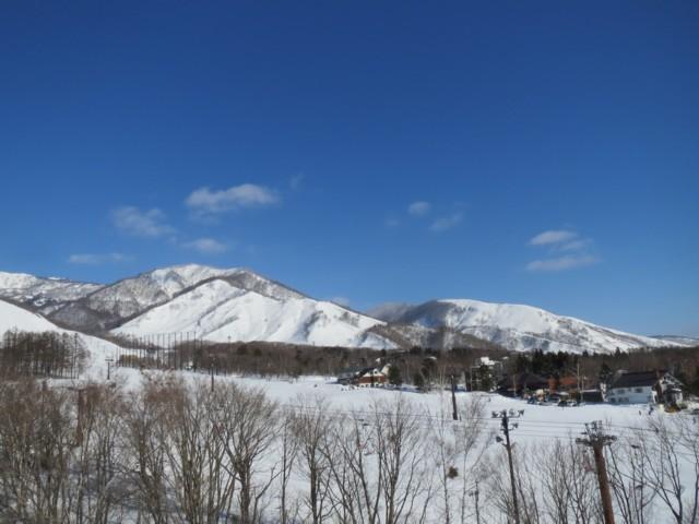 2月23日 栂池ゴンドラから若栗と裏コル