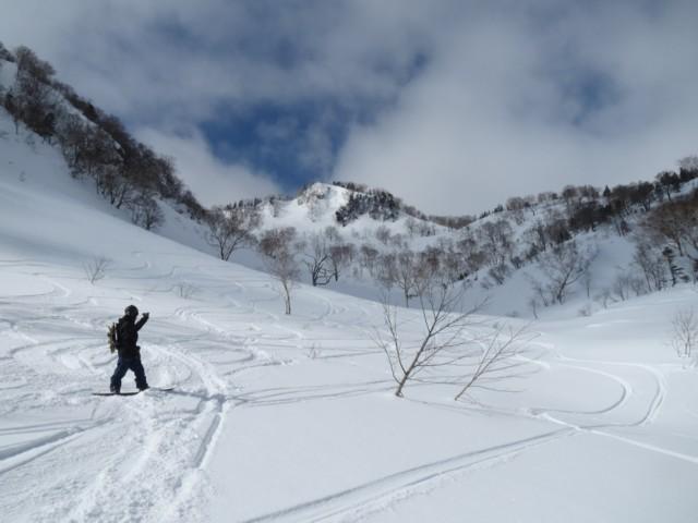 2月23日 裏鵯から若栗登りまではまったり沢