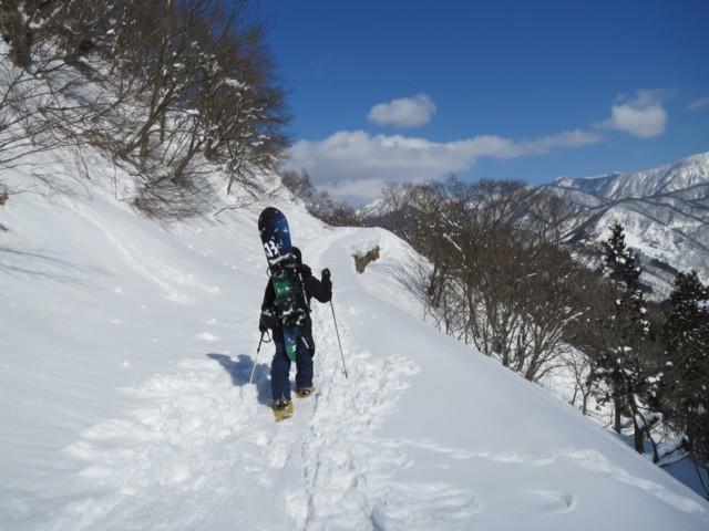 2月23日 林道少しハイク
