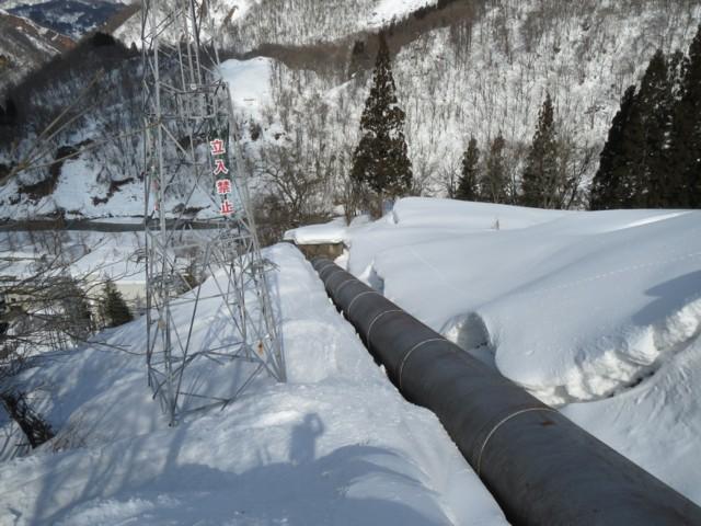 2月23日 姫川第二発電所