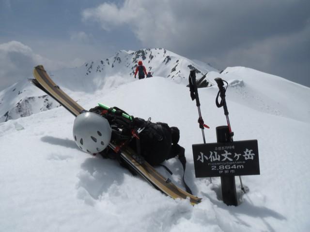 5月3日 小仙丈ケ岳2864m