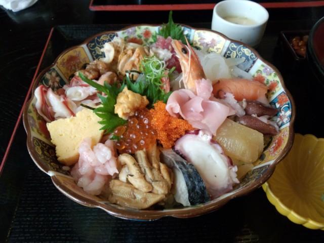 5月11日 魚啓でなまらウマイ海鮮丼