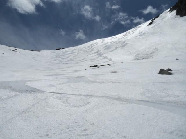 5月18日 中岳のカール