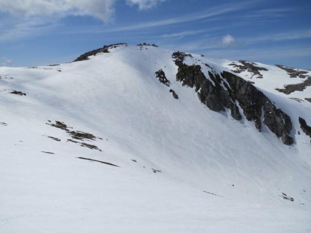 5月18日 中岳のカール登り返し