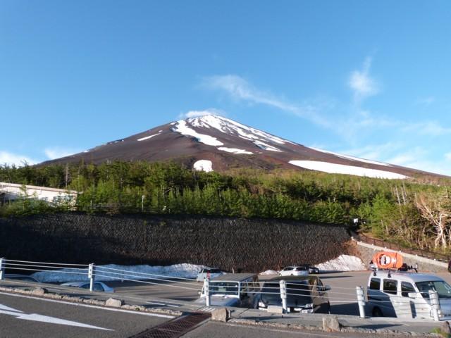 6月14日 ピーカン富士山