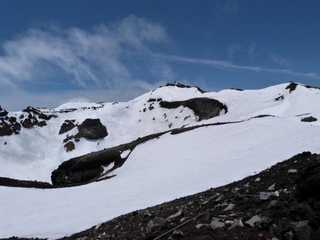 6月14日 富士山頂