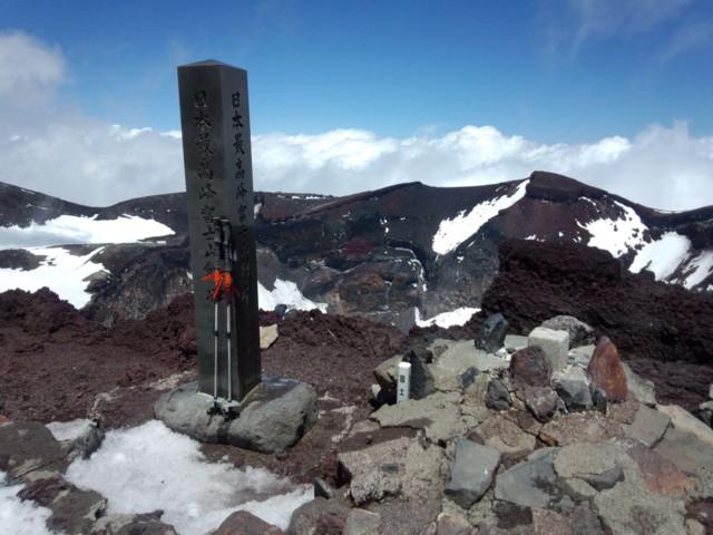 6月14日 日本最高峰富士山剣ヶ峰