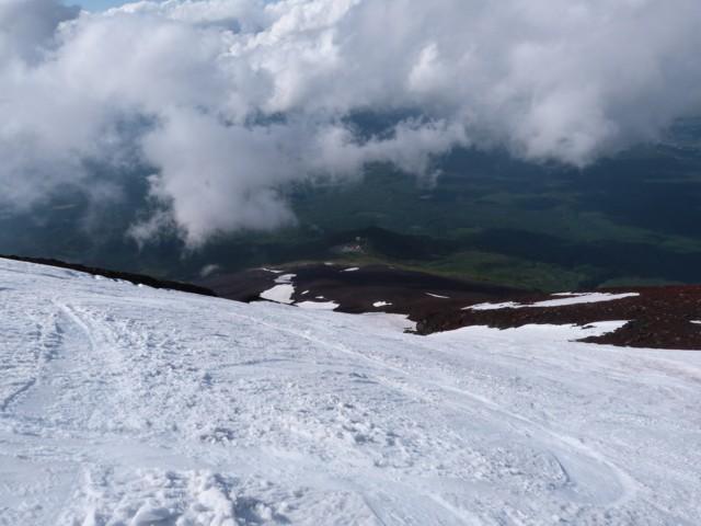 6月14日 小御岳流し入口