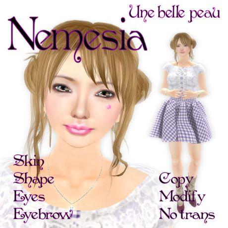 Nemesia skin panel 460