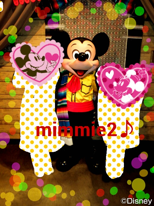 JCBグリ☆やっと、ミッキーと撮れたよ!