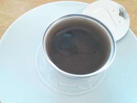 千鳥屋:黒豆茶こはく羹 (3)