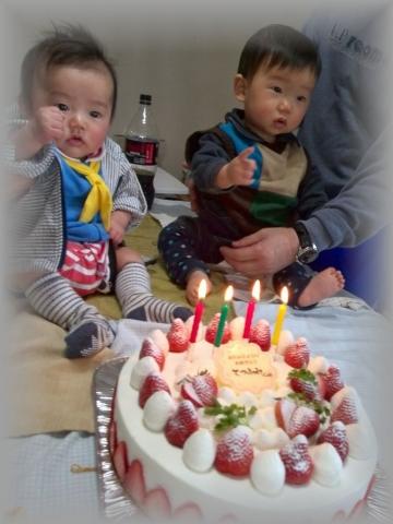 パティスリー ラ・フィーユ 山田さん誕生日 (1)