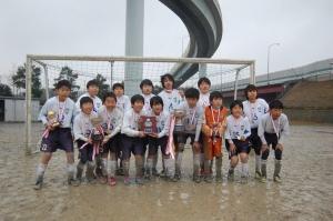 【25年度冬季少年サッカー大会】 青葉FC Lブルー 祝!優勝 @青葉スポーツ広場/少年サッカー