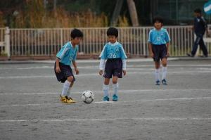 【2013年度 第45回横浜国際チビッ子サッカー大会】 青葉FC LLホワイト@すすき野小学校/少年サッカー/11月10日(日)