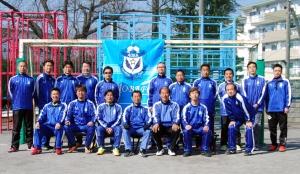 2014年度青葉FC(青葉フットボールクラブ)コーチングスタッフ@すすき野小学校グラウンド(ホーム)