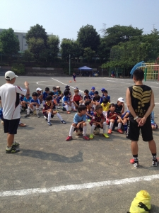 【2013年 ワンデイ合宿】幼稚園~3年生で楽しみました! @すすき野小学校/少年サッカー