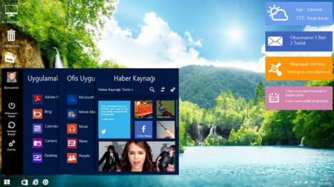 Windows9 らしき画像