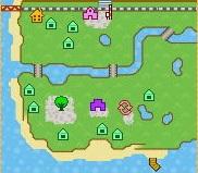 アーモンド村MAP