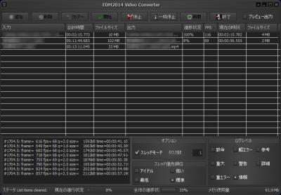 EDM2014 Video Converter スクリーンショット