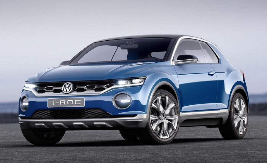 VW T-ROC open3