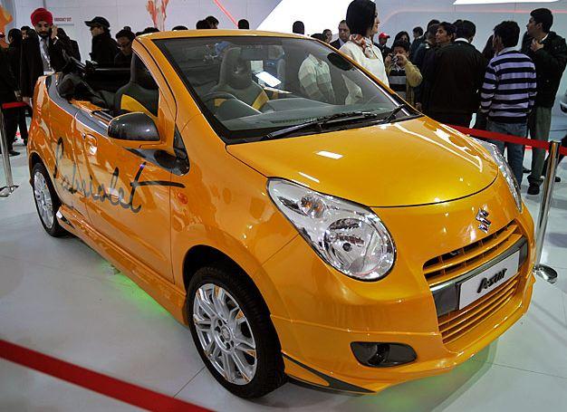 suzuki A-star cabriolet