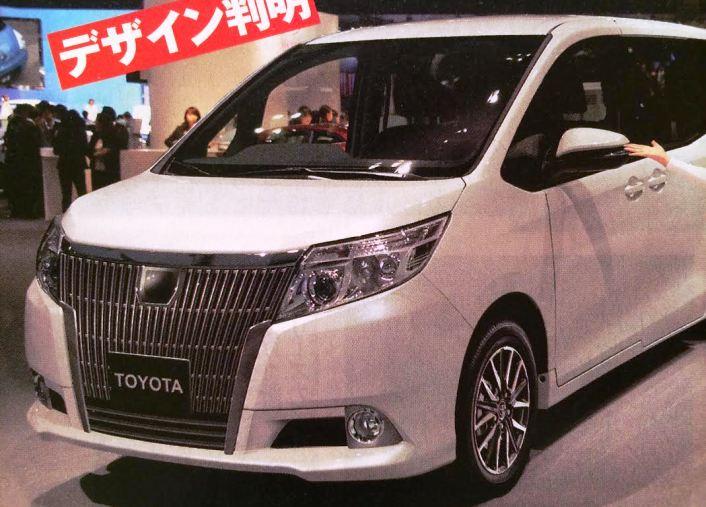 トヨタ 新型ミニバン ノア ヴォクシー兄弟モデル