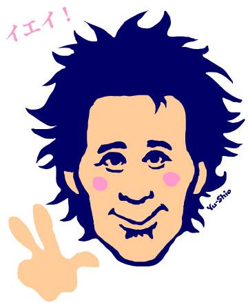 忌野清志郎 caricature