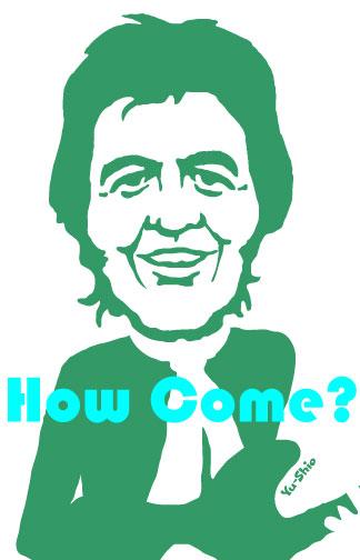 Ronnie Lane caricature