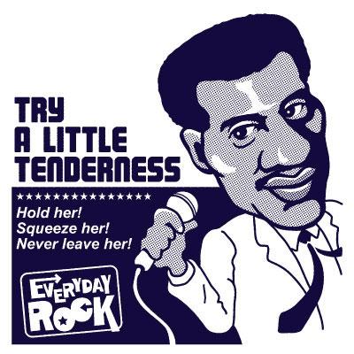 EverydayRock T Shirt Otis Redding caricature