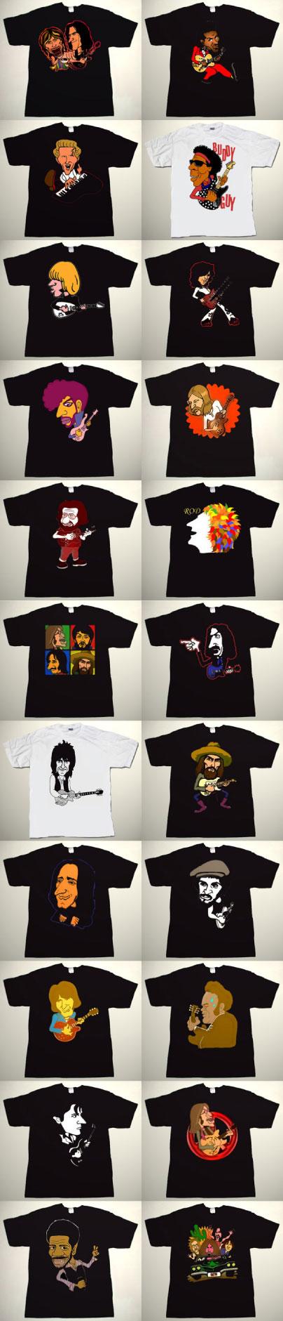 collectors ware pakuri t shirts