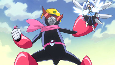 【ハピネスチャージプリキュア!】第05回「めぐみとひめ!仲良しおたすけ大作戦!!」