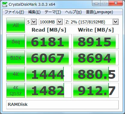 【CDM3.0】QSoft RAMDrive Enterprise x64