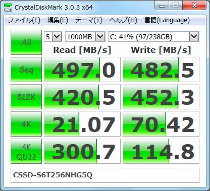 【CDM3.0】CSSD-S6T256NHG5Q