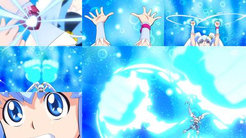 【ハピネスチャージプリキュア!】第17回「努力と根性!!めぐみと誠司の絆!!」