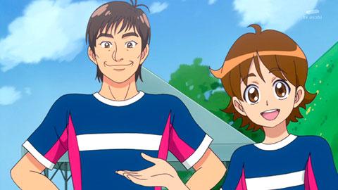 【ハピネスチャージプリキュア!】第19回「サッカー対決!チームプリキュア結成!」