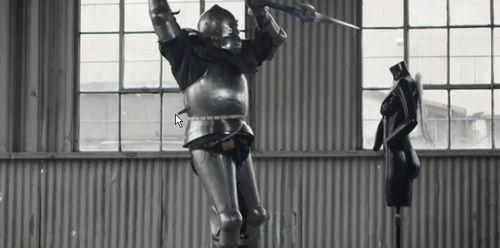 新生FF14 クラウドの剣などを作った外人さんがリューサン(竜騎士)のレリック ゲイボルグを製作!動画