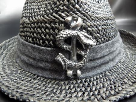 Gaboratory,Gabor,Silver,Straw hat,ガボラトリー,ガボール,シルバー,ストローハット ,卡博拉特利,加伯,銀飾,金飾