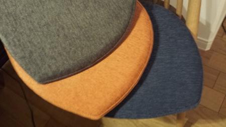 専用クッションの三色まとめ画像