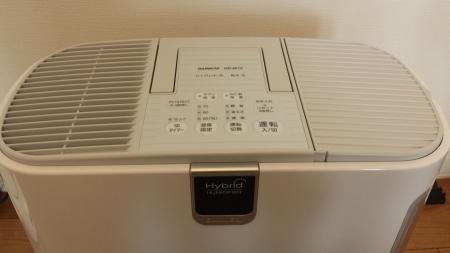 HD-9013-W DAINICHI 加湿器 パネル部分