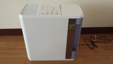 ダイニチ ハイブリッド式加湿器 HDシリーズ ブルー HD-5013-A正面画像