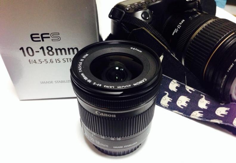 efs 10 18mm 広角レンズ