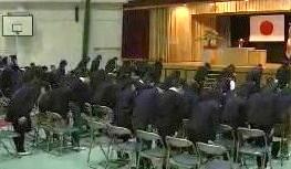 広島基町小学校 卒業式