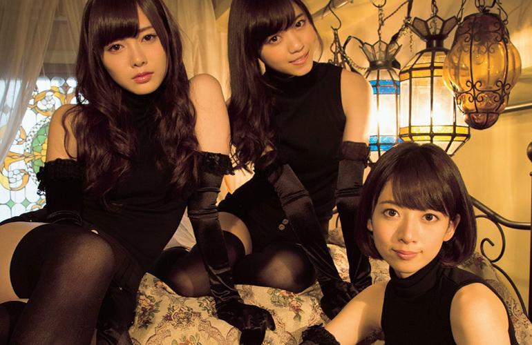 乃木坂46 美しすぎる三姉妹