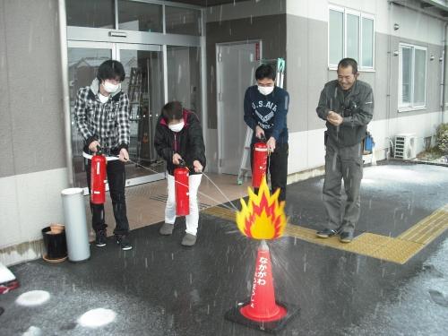 20140225 紫の郷 防災訓練1