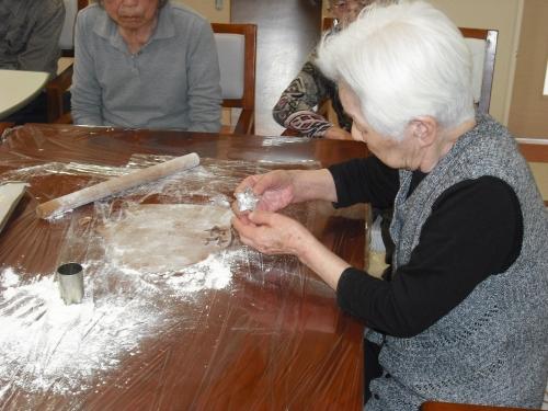 20140411 紫の郷 クッキー作り2